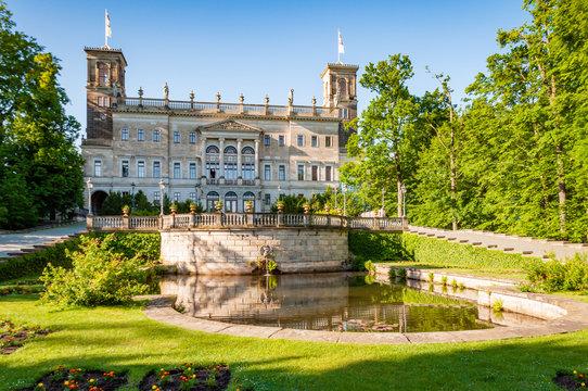 Park und Schloss Albrechtsberg - Dresden, Sachsen