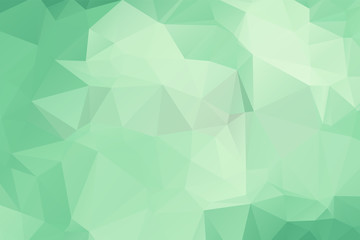 Light Green vector polygon abstract backdrop. Polygonal abstract vector with gradient. Textured pattern for your backgrounds