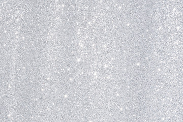 silver bokeh light background