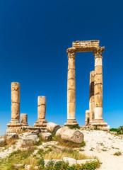 Temple of Hercules - Colonnade