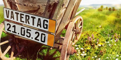 Vatertag 2020, Bollerwagen