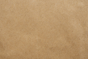 Old brown eco recycled kraft paper texture cardboard background
