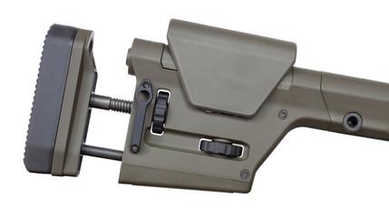 Fully adjustable rifle stock