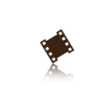 Film Logo vector template eps for your company, industry purpose ready to use