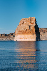 Lone Rock in Page Arizona USA