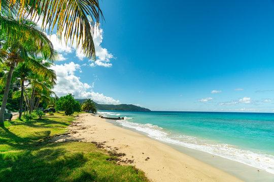 Prestine Cane Bay Beach in St. Croix