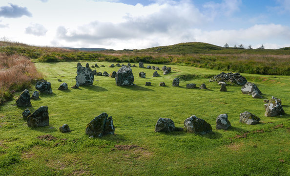 Beaghmore stone circles in Ireland