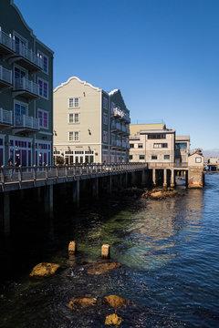 Monterey Harbour, California