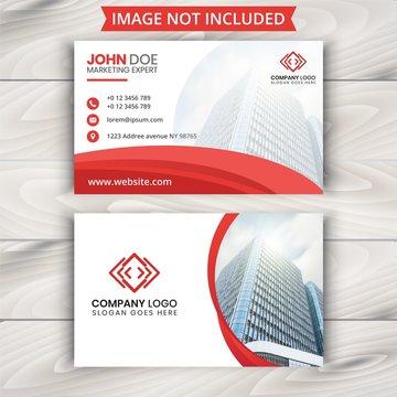 Stylish business card template.