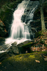 waterfall located in Nelson County Virginia