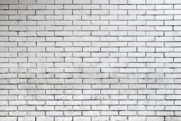 Wall Mural - White brick wall