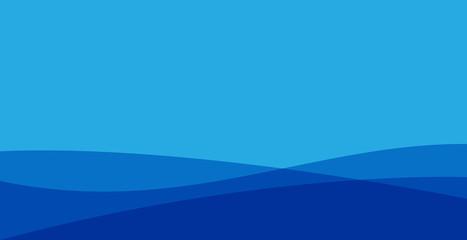 blue wavy gradation background, blue wavy background . modern style