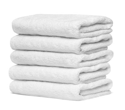 towel cotton bathroom white spa cloth textile