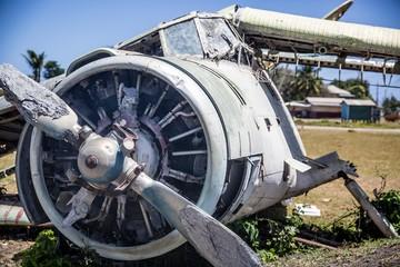 Pearls Old Abandened Airport, Airplane, Aeroplane - Grenada
