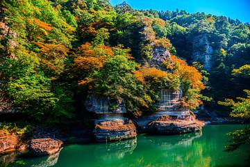 美しき日本の風景、渓谷