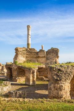 Tunisia, Tunis, Carthage, Antonine Baths