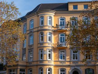 Altbaugebäude in Hamburg, Deutschland