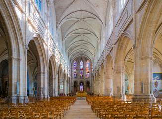 Interior of Blois Cathedral (CathÈdrale Saint-Louis de Blois), France