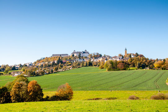 Schloss Augustusburg - Chemnitz, Erzgebirge, Sachsen