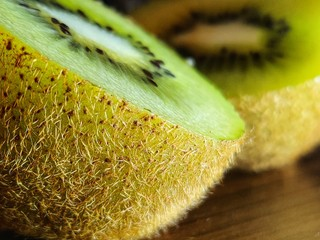 Foto op Plexiglas Spa closeup of kiwi fruit