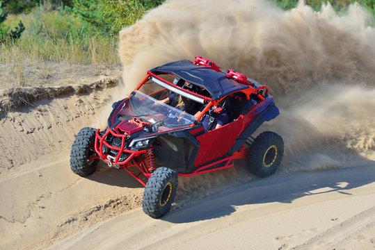Summer UTV, ATV & offroad driving