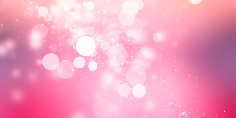 Pink blur abstract background. bokeh christmas blurred beautiful shiny Christmas lights Fototapete