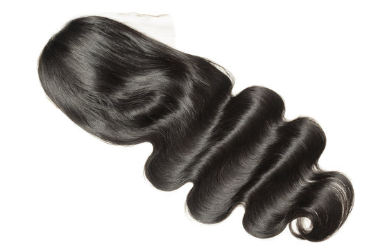 body wave wavy black human hair weaves extensions lace wigs
