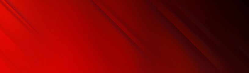 Red background for wide banner