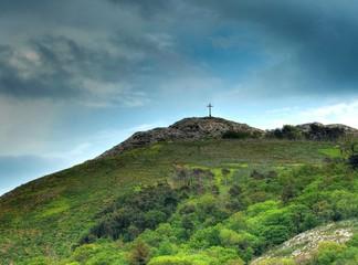 Collines de Bray, promenade au sommet des falaises, Irlande