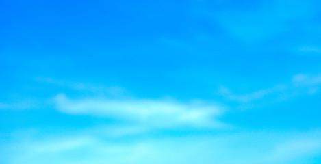 Aluminium Prints Heaven blue sky with cloud background sky bright color