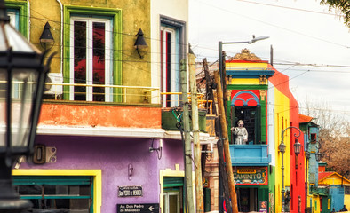 Canvas Prints Buenos Aires El Caminito, La Boca, Buenos Aires, Argentina, South America