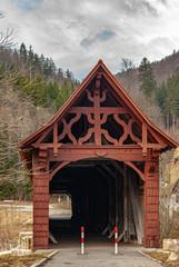 Historical Timber Bridge