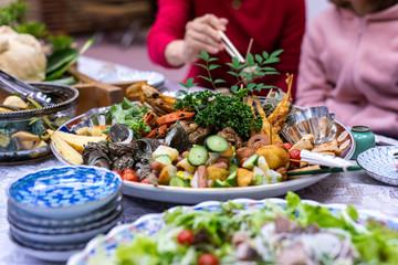 唐津くんちの祝い料理