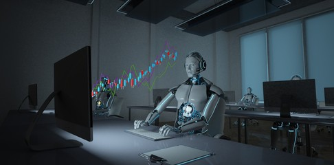 Robot Stocks Trader