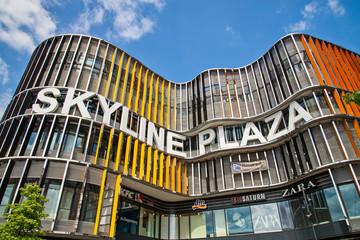Shopping mall Skyline Plaza in Frankfurt