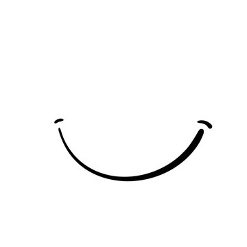 funny smile icon symbol Emotion emoticons smiley faces emoji with doodle hand drawn style symbol for Happy International Day of Happiness World Smile Day