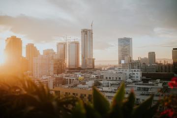 Downtown LA Sunset