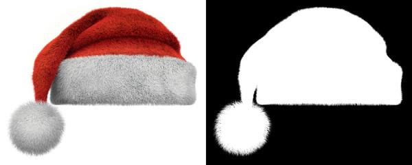 Christmas Santa Claus Furry Hat