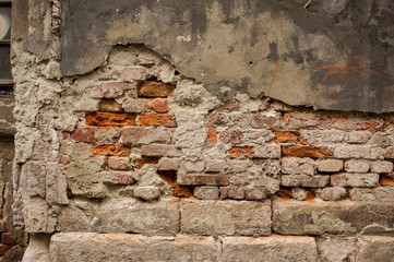 Old wall background. Old city.