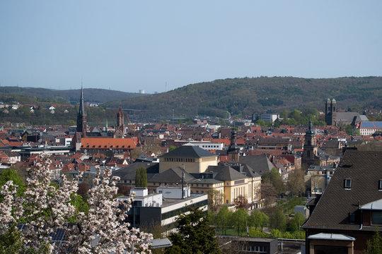 Blick auf Saarbrücken
