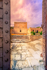 Wall Mural - View of the historic venetian fort of Kazarma, Sitia, Crete