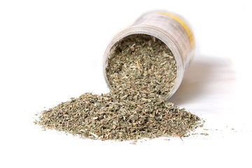 Dried catnip for cats