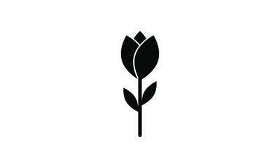 rose, tulip icon vector  Fototapete