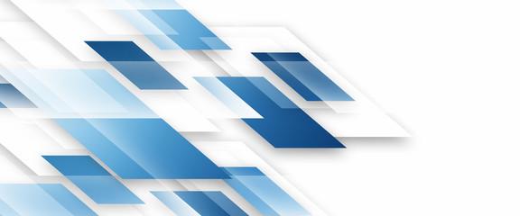 Square geometrical modern business presentation design template  Fototapete