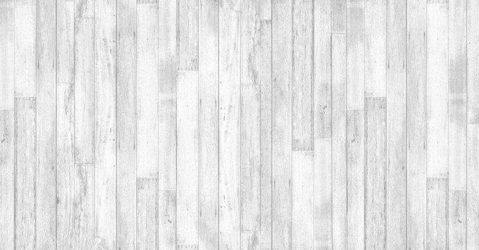 Old vintage white wood textured background