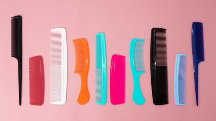 Fashion equipment collection of combs hairbrush for hair