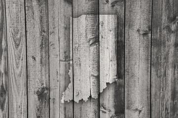 Karte von Indiana auf verwittertem Holz