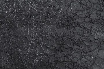 Black rice paper background. Hand made paper