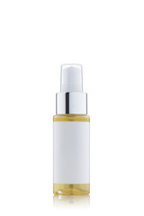 White  Cosmetic Bottle.