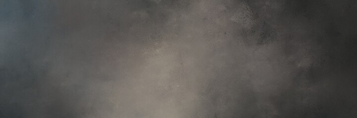 abstract painting background graphic with dark slate gray, dim gray and gray gray colors and space for text or image. can be used as header or banner